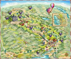 map illustrations | Illustrated Maps by Professional Map Illustrator Maria Rabinky ...