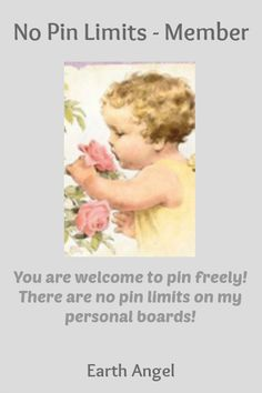 No Pin Limits - Member: Earth Angel - Visit profile here: http://www.pinterest.com/summerrose58