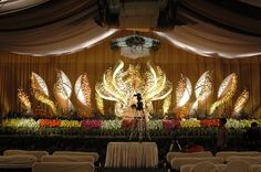 This is a tad over the top but have to admit it is pretty darn this is a tad over the top but have to admit it is pretty darn impressive colorful wedding ceremonies pinterest beautiful posts and it is junglespirit Gallery
