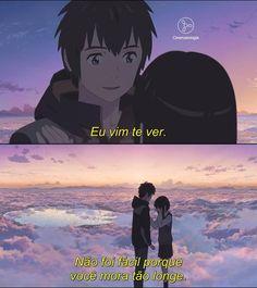 Konichiwa AA ^^ Well today I just wanna talk about my favourite anime movie, kimi no na wa (your name Sad Anime, Otaku Anime, Anime Love, Anime Manga, Kawaii Anime, Anime Films, Anime Characters, Makoto Shinkai Movies, Mitsuha And Taki