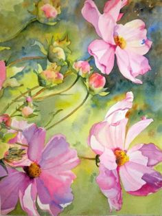 Cosmos Charisma, painting by artist Kay Smith
