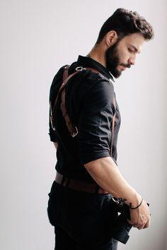 woodsman suspenders