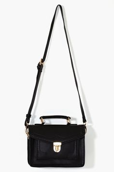 Blair Satchel in Black