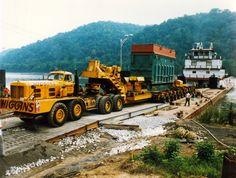 HENDRICKSON - Higgins, 434 ton transformer