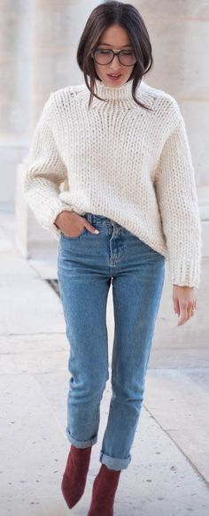 Alex's Closet Perfect And Chunky Knit Fall Street Style Inspo