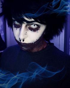 White Lenses, Halloween Face Makeup
