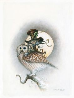 PASCAL MOGUEROU ---(how fitting, the witch, owl and the name!!)