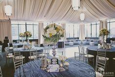 Vintage Glam Wedding at The Citizen Hotel, Sacramento, Ca www.flourishdesigns.com
