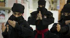 イランの忍者需要が急上昇中!訓練するイランの女忍者画像あり。 | A!@attrip