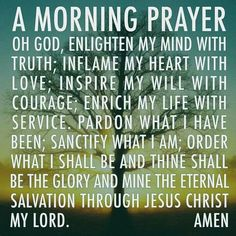 Uplifting and inspiring prayer, scripture, poems & more! Discover prayers by topics, find daily prayers for meditation or submit your online prayer request. God Prayer, Prayer Quotes, Power Of Prayer, Daily Prayer, Prayer Verses, 2017 Prayer, Sunday Prayer, Godly Quotes, Biblical Quotes