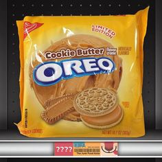 Cookie Butter Oreos Could Be Headed Your Way Soon Oreo Cookie Butter, Oreo Cookies, Cupcake Cookies, Weird Oreo Flavors, Cookie Flavors, Oreo Pop Tarts, Oreos, Healthy Dark Chocolate, Butter Mints