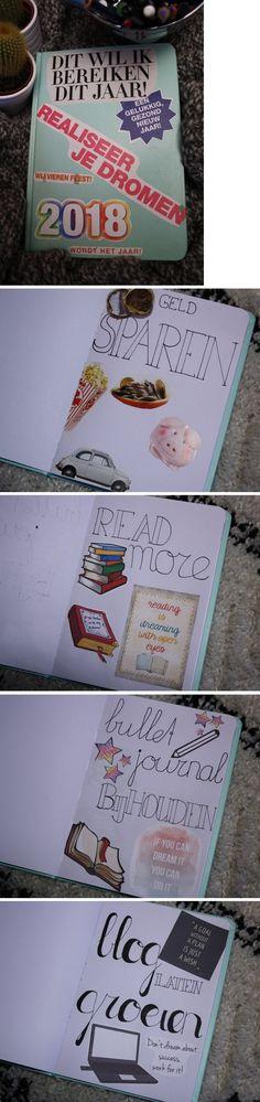 Maak zelf ook dit inspiratie boekje! Wat is er handiger dan al je goede voornemens in 1 boekje?!
