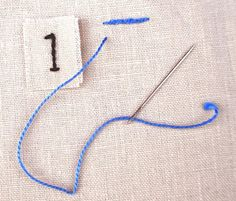 Sew Old Sew New: the split stitch