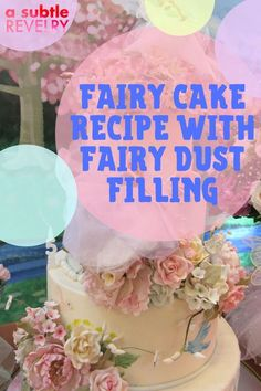 What cake is both fun and magical? Fairy cake with fairy dust filling! A Subtle Revelry has a step-by-step easy-to-follow recipe that is filled with delight and surprise. A homemade cake with a professional baker appearance. Everyone will be impressed. Especially your little princess who will be thrilled. A delicious delicacy to put a smile on everyone's face. Check out their expressions when they see the surprise waiting inside. Download here... #fairycake #fairydustfilling #princesscake Fairy Cakes, Homemade Cookies, Fairy Dust, Chocolate Dipped, Little Princess, Food To Make, Cake Recipes, Waiting, Smile