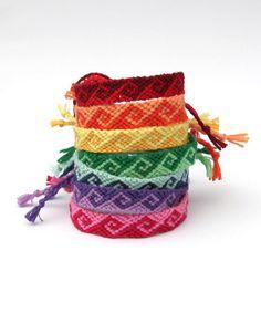 Friendship Embroidery Bracelets Hand woven wave design friendship bracelets by RahrahCrafts - Bracelet Fil, Bracelet Knots, Bracelet Crafts, Thread Bracelets, Embroidery Bracelets, Macrame Bracelets, Summer Bracelets, Cute Bracelets, Friendship Bracelets