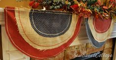 I love decorating my mantel for the holidays, and I love buntings—so naturally I felt I had  to make a patriotic bunting for the summer. I...