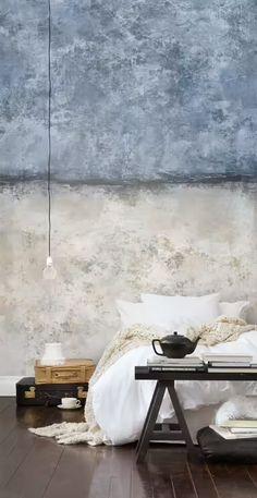 Grunge Style in Interior Design | HomeAdore HomeAdore Wabi Sabi, Diy Interior, Decor Interior Design, Interior Decorating, Simple Interior, Studio Interior, Scandinavian Interior, Luxury Interior, Wall Texture Design