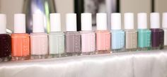 Top 10 Essie Colors with Swatches - I love Chinchilly, Ballet Slippers and Marshmallow