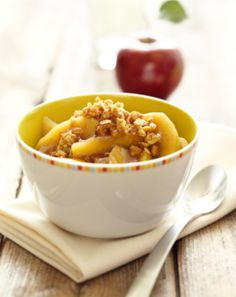 Delicious Raw Vegan Apple Crisp