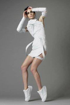 Francesca Capper Graduate Collection Image via Francesca Capper. Central Saint Martins, British Style, Vivienne Westwood, Christian Dior, Sporty, Fashion Design, Collection, Tape, Designers