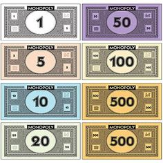 Monopoly Money Printable - - Yahoo Image Search Results