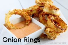 Baked Gluten Free Onion Rings | Super Bowl recipes