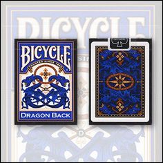 Bicycle Dragon Back Cards (Blue) by USPCC - Trick