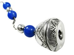 Begleri, decorated with lapis lazuli gemstones. The decorative edges are inspired by spindle whorls, found in Cuprus, dating to 1900 B. Gift Packaging, Lapis Lazuli, Special Gifts, Dating, Gemstones, Chain, Beads, Inspired, Earrings