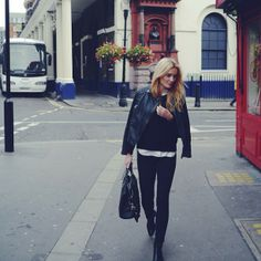 Style...Camilla Pihl // casual chic street style