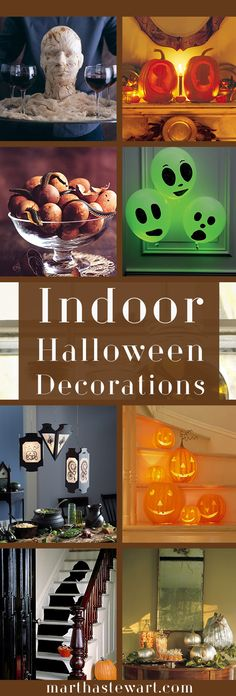 These easy, inexpensive window treatments are a spooky addition to windows for Halloween.