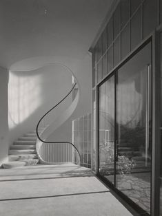 Stairs: Coleman House, 1956, San Francisco, CAWilliam Wurster