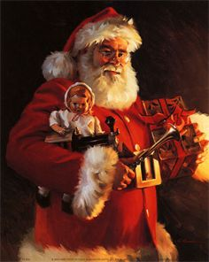 16.  old st. nick....gotta love the jolly ol fella
