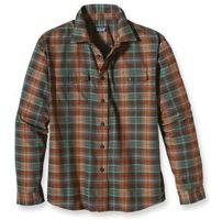 This midweight men's flannel button-down is made from soft cotton and resists wrinkles for a comfortable but practical shirt. (via @Patagonia www.patagonia.com)