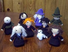 Harry Potter Amigurumi! Knitting Up Hogwarts: A Harry Potter Fiber Craft Community | Connected Learning Research Network