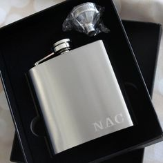 Groomsmen Gift, Personalized Gift for Him, Engraved Flask, Groomsman Gift, Personalized Flask, Hip Flask, Wedding, Best Man Gift, Usher Gift  Our
