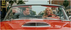 "Ford Thunderbird (1957)  L'auto di Edie Athens (Uma Thurman)in ""Be Cool"", con John Travolta."