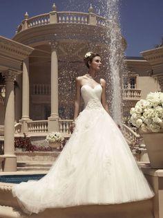 Casablanca Wedding Gown, New, Size 12, Style 2112, Originally $1289
