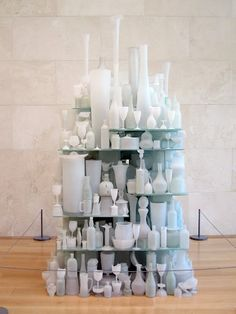Tony Cragg is truly a master of materials. Moving effortlessly between plastic, wood, bronze, glass, and found materials Cragg as been creating ...