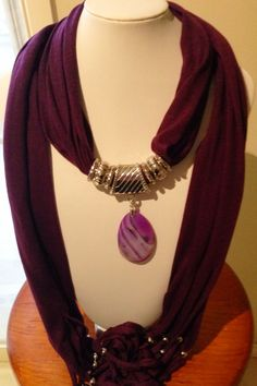 I'm selling Purple pendant necklace (SALE ITEM) - A$17.99 #onselz