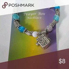 PM#58 Prayer box necklace- new Not a vintage item. Very cute! Jewelry Necklaces