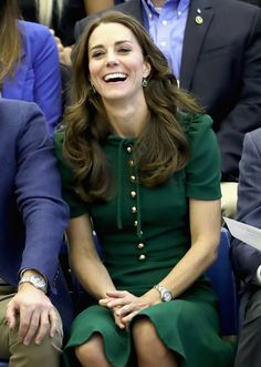Kate Middleton Photos Photos - Catherine, Duchess of Cambridge watches a game of volleyball as she visits Kelowna University during the Royal Tour of Canada on September 27, 2016 in Kelowna, Canada. Prince William, Duke of Cambridge, Catherine, Duchess of Cambridge, Prince George and Princess Charlotte are visiting Canada as part of an eight day visit to the country taking in areas such as Bella Bella, Whitehorse and Kelowna - 2016 Royal Tour To Canada Of The Duke And Duchess Of Cambridge…