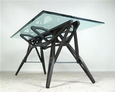 Lauritz.com - Furniture - Carlo Mollino, dining table model Reale by Zanotta - DE, Dusseldorf, Kappeler Straße