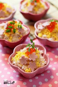 ひなまつりパーティー 2012年 - 1ヶ月2万円の節約レシピ (マイティのブログ)