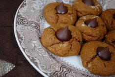 Pumpkin Gingerbread Thumbprint Cookies Recipe