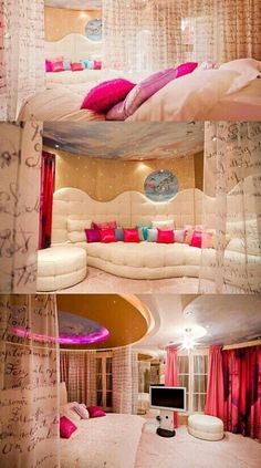 Teen Girl Bedrooms for a terrific relaxing living space topic number 8257813161 - Creative and dreamy styling tips and tricks. Filed under pink teen girl bedroom daughters , created on this date 20190106 Awesome Bedrooms, Cool Rooms, Cute Room Ideas, Girl Bedroom Designs, Bedroom Ideas, Bed Designs, Bedroom Themes, Bed Ideas, Dreams Beds