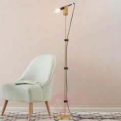 ca Winston, mosi?na, elementy skórzane - FS INSPIRE Led Röhren, Messing, Led Lamp, Lighting, Inspiration, Furniture, Servent, Home Decor, Guide