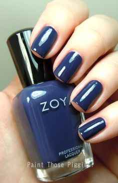 Zoya - Sailor Zoya Nail Polish, Nail Polishes, Hair And Nails, My Nails, Beauty Review, Nail Colors, Sailor, Swatch, Beauty Makeup