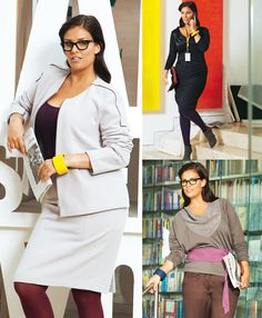 Read the article 'Closing Time: 10 Professional Plus Size Patterns' in the BurdaStyle blog 'Daily Thread'.