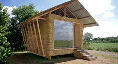 Inspiré des constructions agricoles vernaculaires, le « nid » est la proposition faite par l'agence d'architecture Studio 1984 lors du concours Archi<20, engagé pour le respect de l'environnement.