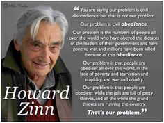 Howard Zimm on the importance of disobedience
